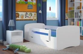 Łóżko dziecięce Babydreams bez obrazka 180x80