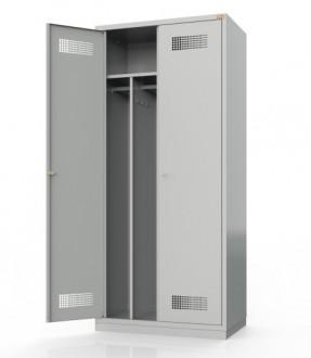 Metalowa szafa ubraniowa BHP800/2