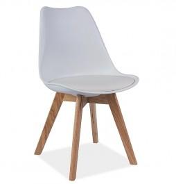 Krzesło z poduszką Kris buk