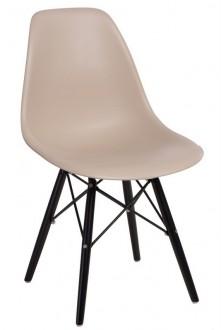 Krzesło P016W insp. DSW na czarnych nogach