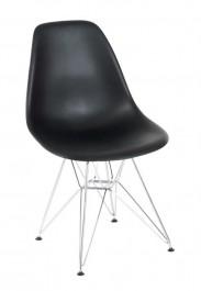 Krzesło P016 PP insp. DSR na chromowanej podstawie