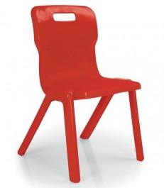 Szkolne krzesło jednoczęściowe T2 rozmiar 2 (108-121 cm)