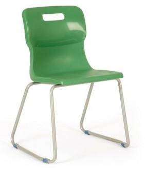 Szkolne krzesło na płozach T23 rozmiar 3 (119-142 cm)