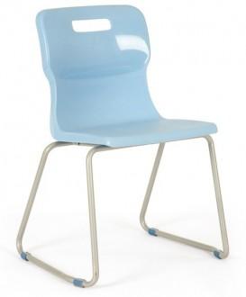 Szkolne krzesło na płozach T24 rozmiar 4 (133-159 cm)