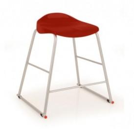 Laboratoryjny stołek na płozach T91 rozmiar 4 (133-159 cm)