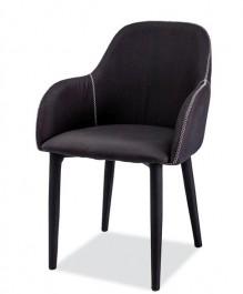 Krzesło tapicerowane tkaniną Oscar