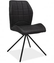 Tapicerowane ekoskórą krzesło Maxim