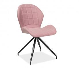 Pikowane krzesło na giętych nogach Hals 2