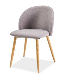 Wygodne krzesło tapicerowane Erin