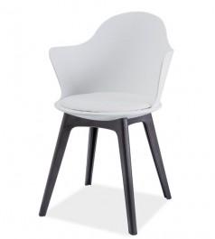 Krzesło z poduszką i podłokietnikami Matteo II