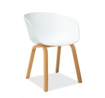 Nowoczesne krzesło z tworzywa Ego