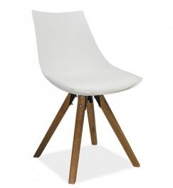 Nowoczesne krzesło na bukowych nogach Lenox