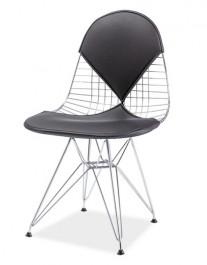 Krzesło z wygodnym siedziskiem i oparciem Intel II