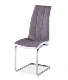 Pikowane krzesło na płozach H103