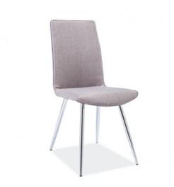 Klasyczne krzesło tapicerowane tkaniną H166