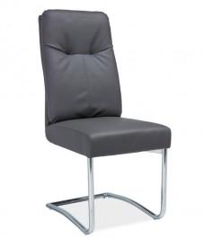 Wygodne krzesło z ekoskóry z uchwytem H340