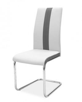 Dwukolorowe krzesło do jadalni H200