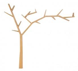 Drewniana połka ścienna Poprad