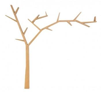 Drewniana półka drzewko Poprad brąz miodowy