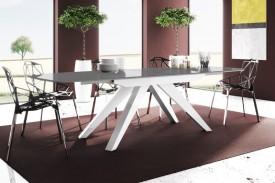 Stół rozkładany w wysokim połysku Makani