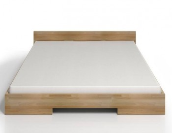 Łóżko bukowe Skandica Spectrum niskie Long