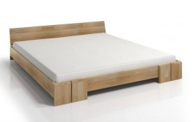 Łóżko bukowe Skandica Vestre niskie Long