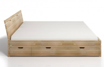 Łóżko bukowe Skandica Sparta Maxi&DR