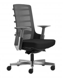 Fotel biurowy Spinelly M 998B czarny
