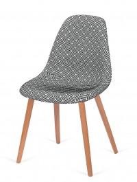 Tapicerowane krzesło do jadalni Plush Splot