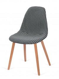 Tapicerowane krzesło do jadalni Plush Tetris