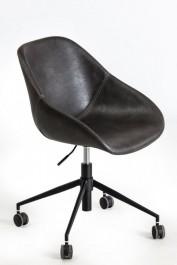 Fotel biurowy tapicerowany ekoskórą Poter