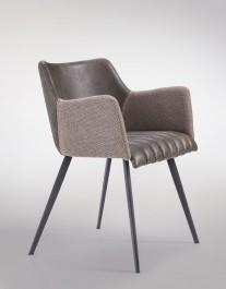Komfortowe krzesło do jadalni Jeff M