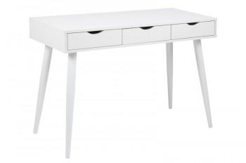 Białe biurko z szufladami Neptun