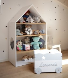 Regał domek do pokoju dziecięcego Nomi
