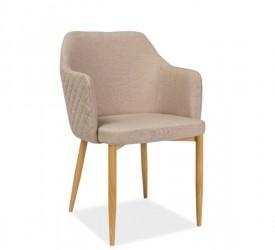 Pikowane krzesło do jadalni Astor