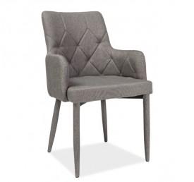 Pikowane krzesło do jadalni Ricardo