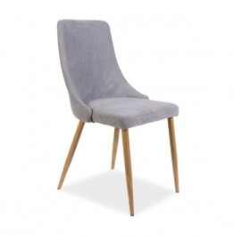 Tapicerowane krzesło do jadalni Nobel