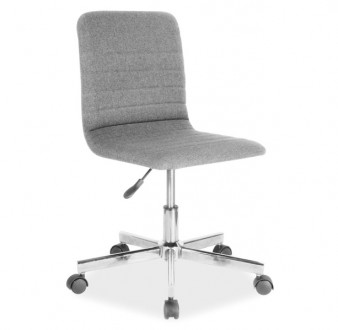 Szare krzesło obrotowe Q-M1