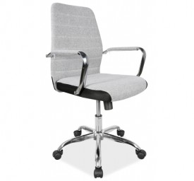 Tapicerowane krzesło biurowe Q-M3