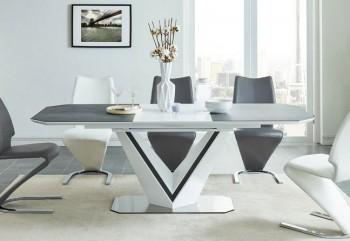 Rozkładany stół do jadalni z ceramicznym blatem Valerio Ceramic