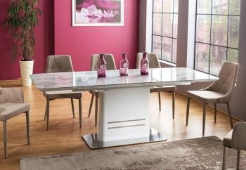 Rozkładany stół do jadalni Cartier Ceramic