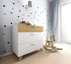 Komoda do pokoju dziecięcego Hoppa