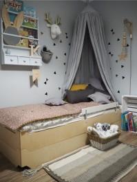 Tapczanik - łóżko w łóżku 200x90 Magi Timoore