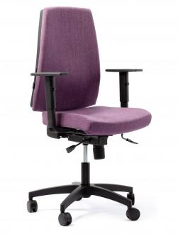 Krzesło biurowe bez zagłówka Quatro