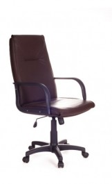 Fotel gabinetowy na kółkach Bruno PU
