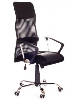 Krzesło biurowe z oparciem z siatki Modus Net CHROM