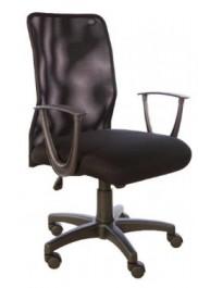 Krzesło obrotowe z oparciem z siatki Sin