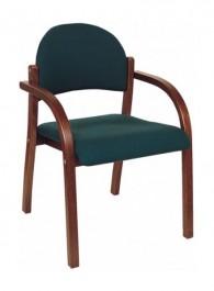 Krzesło konferencyjne tapicerowane Alan