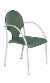 Krzesło tapicerowane z podłokietnikami Modus