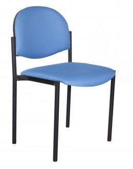 Tapicerowane krzesło biurowe Styl